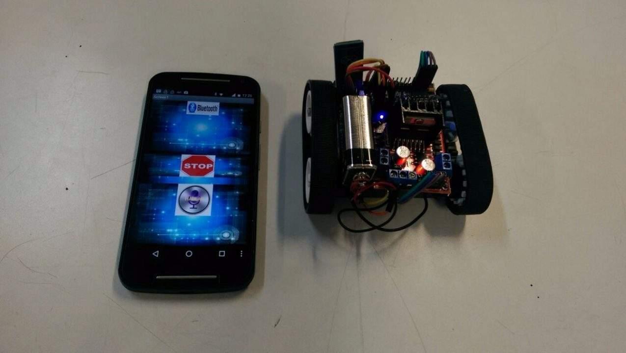 robot voice control