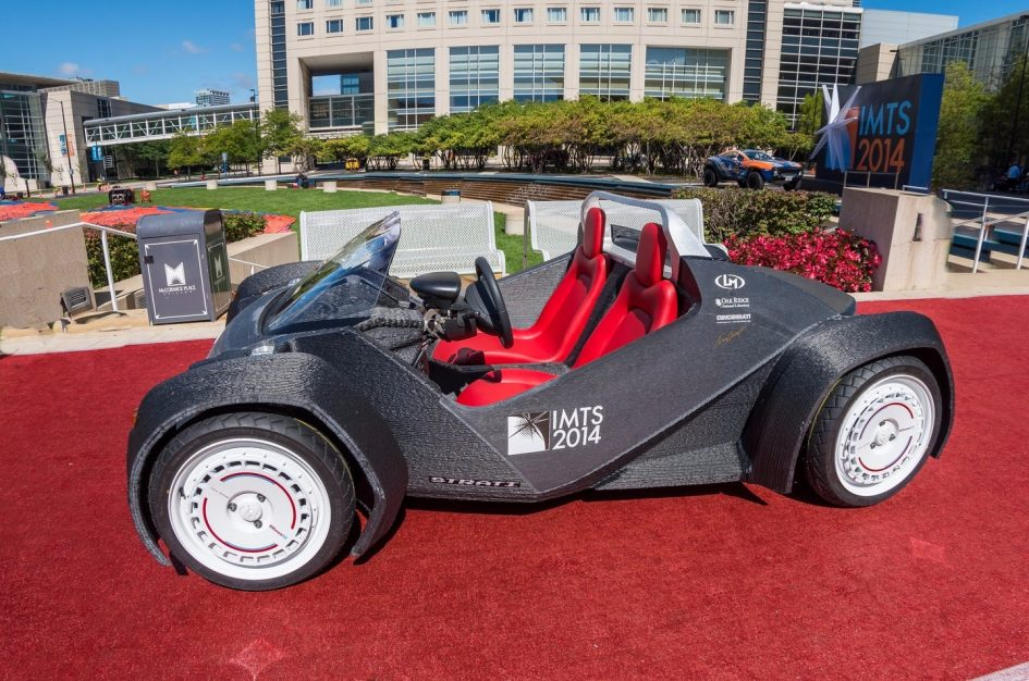 First car made with 3D printer